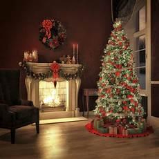 happy merry christmas vinyl background bling christmas trees custom children