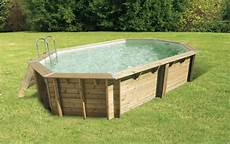 que choisir piscine hors sol piscine hors sol bois oc 233 a 6 10 x 4 00 m h 1 30 m liner nortland hydro sud