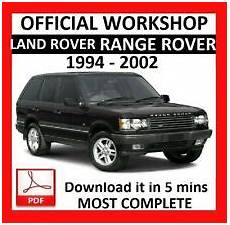 free online auto service manuals 1994 land rover defender free book repair manuals land rover range rover car service repair manuals for sale ebay