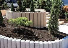palissade jardin beton bordure palissade beton construction maison b 233 ton arm 233