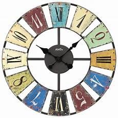 Horloge Murale Design Grand Diam 232 Tre Index Vintage Et