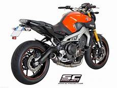cr t exhaust by sc project yamaha mt 09 2018 y19 c38c