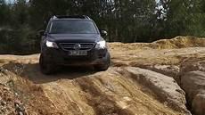 Vw Tiguan Offroad Im Sand