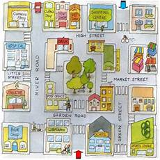 teaching directions esl beginners 11677 image result for giving directions and map ciudad en ingles mapas idioma ingles