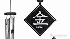 Windspiel Woodstock Feng Shui Chime Element Metall