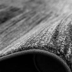 wohnzimmer teppich karo meliert grau schwarz teppich de