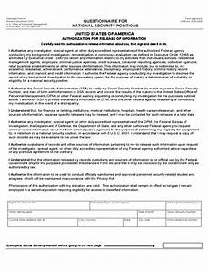 standard form 86 revised december 2010 security clearance forms united states free download
