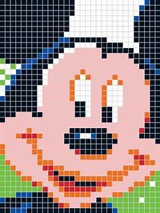 mickey pixel pixel disney quercetti