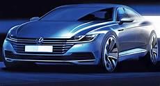 Das Design Des Neuen Vw Arteon 2017 Auto Motor Und Sport