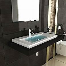spritzschutz bad waschbecken garda aufsatzwaschbecken 90 x 48 cm aus hochwertigem