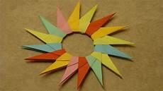 basteln mit papier sterne falten deko ideen mit flora shop