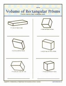 volume of rectangular prism worksheet 6th grade volume of rectangular prisms 6th grade geometry worksheets