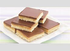 chocolate coconut slice_image