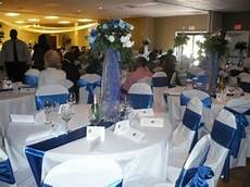 blue and white wedding table decoration ideas blue