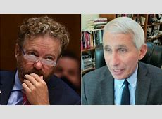 rand paul questions dr fauci