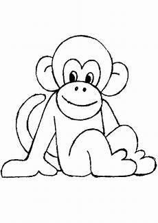 Malvorlagen Tiere Affen Ausmalbilder Affe Ausmalbilder Coloring Pages