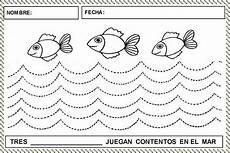 coloring pages preschool 17608 trazoonduladopecesactividades grafo