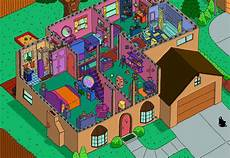 the simpsons house floor plan 2nd floor the simpsons house layouts house built