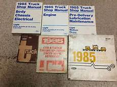 free car manuals to download 1985 ford f series free book repair manuals 1985 ford f 150 250 350 bronco econoline truck service shop repair manual set 85 ebay
