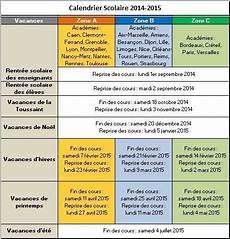 Calendrier Vacances Scolaires 2014 2015 Mod 232 Les Excel