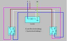 kreuzschaltung mit 3 schaltern schaltplan wiring diagram