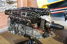 rolls royce merlin engine cutaway on display as fitted to