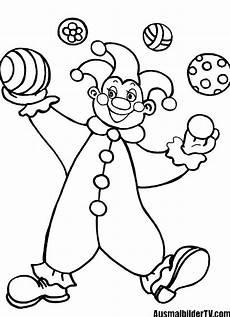Clown Malvorlagen Ausdrucken Ausmalbilder Clown 03 Ausmalbildertv