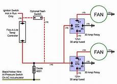 imperial electric fan relay wiring diagram electric fan conversion electric cooling fan