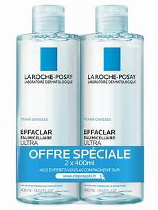 La Roche Posay Effaclar Purifying Micellar Water 2 X 400ml