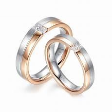 雙環公主方形切工鑽石結婚對戒 england diamond co