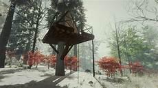 the forest feuerstelle alpines baumhaus offizielles deutsches the forest wiki