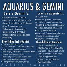 Aquarius Gemini Relationship Listed Above Are The
