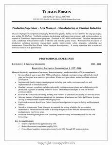 simply manufacturing manager resume objective supervisor