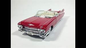 Toy Cars Review Featuring Cadillac Eldorado  YouTube