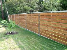 sichtschutz metall holz wood and aluminum fence in 2019 cheap privacy fence