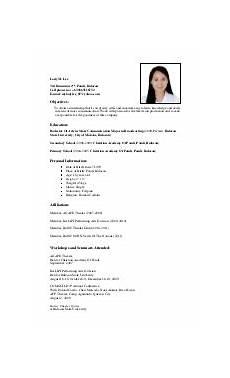 sle resume for ojt