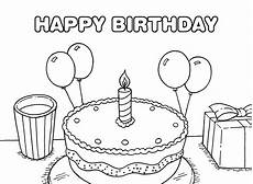 40 free printable happy birthday coloring pages coloring