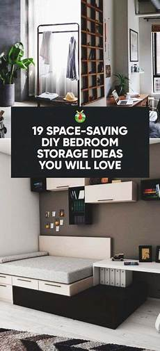 Small Space Small Bedroom Organization Ideas by 19 Space Saving Diy Bedroom Storage Ideas You Will