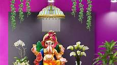 Ideas For Decorations At Home by Ganpati Decoration Ideas For Home How To Make Ganesh