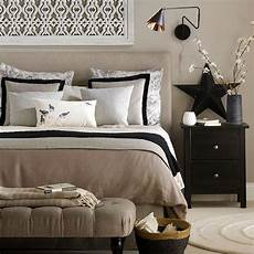 beige and black bedroom home decorating ideas in 2019