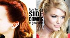 how to use side combs in your hair sassy dove