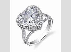 Heart Shaped Engagement Rings For Women