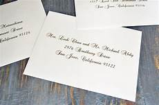 Wedding Invitations How To Address how to address wedding invitation envelopes paper lace