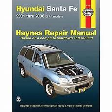 shop manual santa fe service repair hyundai haynes santafe book chilton ebay haynes hyundai santa fe 01 06 repair manual 43050 advance auto parts