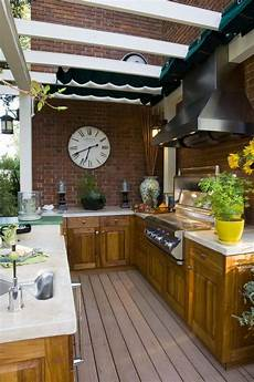 Decorating Ideas For Outdoor Kitchen by 27 Best Outdoor Kitchen Ideas And Designs For 2017