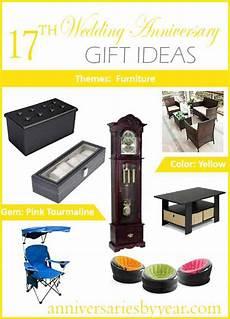 17th Wedding Anniversary Gift 17th anniversary seventeenth wedding anniversary gift ideas