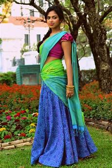 traditional dresses of south asia traditional dress of teenager s tamilnadu india south