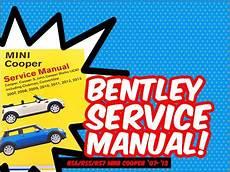 car repair manuals online pdf 2009 mini clubman regenerative braking ecs news r56 r55 r57 mini cooper bentley service manual