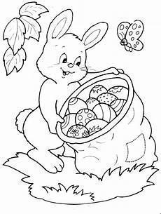 Ostern Malvorlagen Gratis Osterhase Mit Ostereiern 2 Ausmalbild Malvorlage Sonstiges