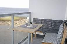 balkon sitzecke balkon mit sitzecke ferienwohnung meerblick olpenitz